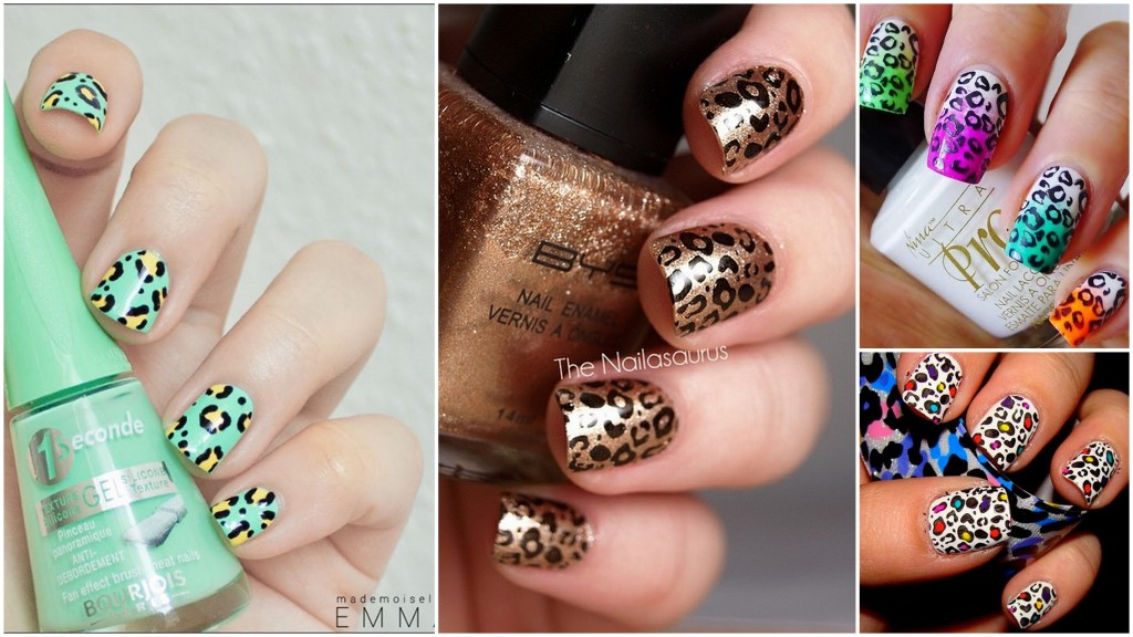 Ideas uñas animal print